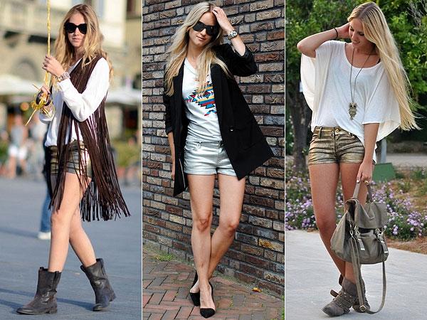metalizado moda