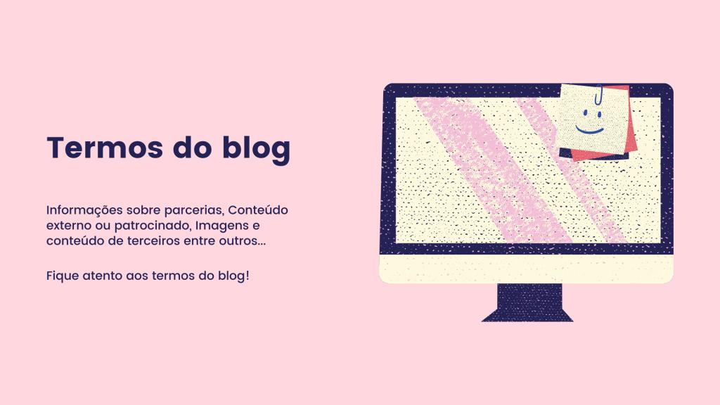 Termos do blog jessribeiro.com.br